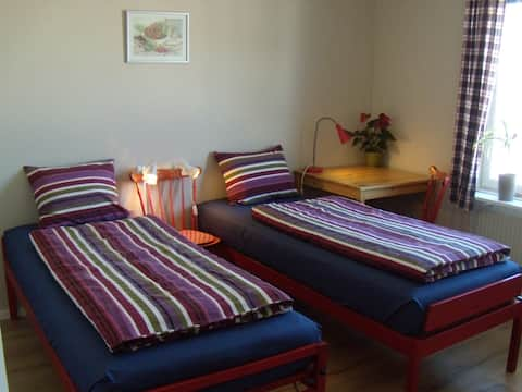 Spacious and cosy room in Umeå