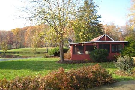 Sarah's Cabin at Fondulac Farm - Gästehaus