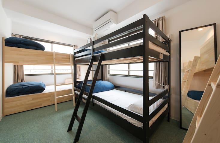 ASAKUSA 5mins/Women's Dormitory room/Newly built/