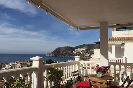 WifiNiceviews terrace2bedroom2bath - La Herradura - Apartament