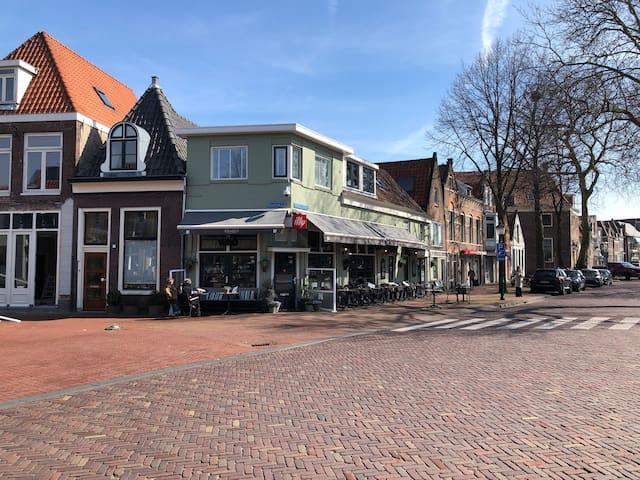2 persoons appartement centrum Hoorn