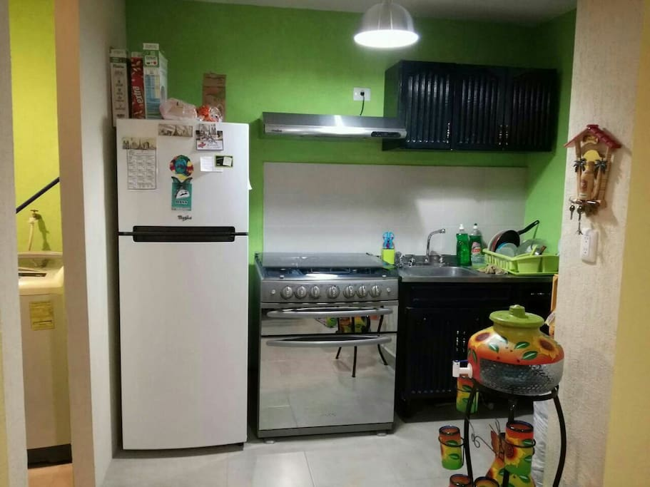 Cocina y centro de lavado
