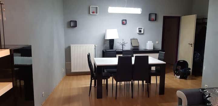 Appartement meublé design , rez de chaussée