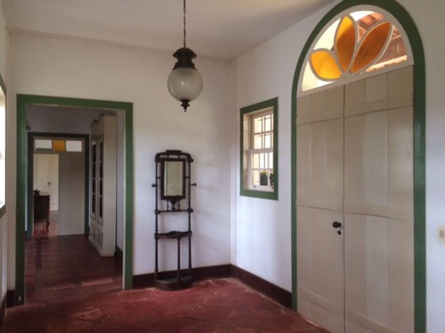 Hall/porta principal de entrada