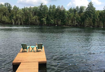 Fireside Retreat- Private Lake Front Cottage