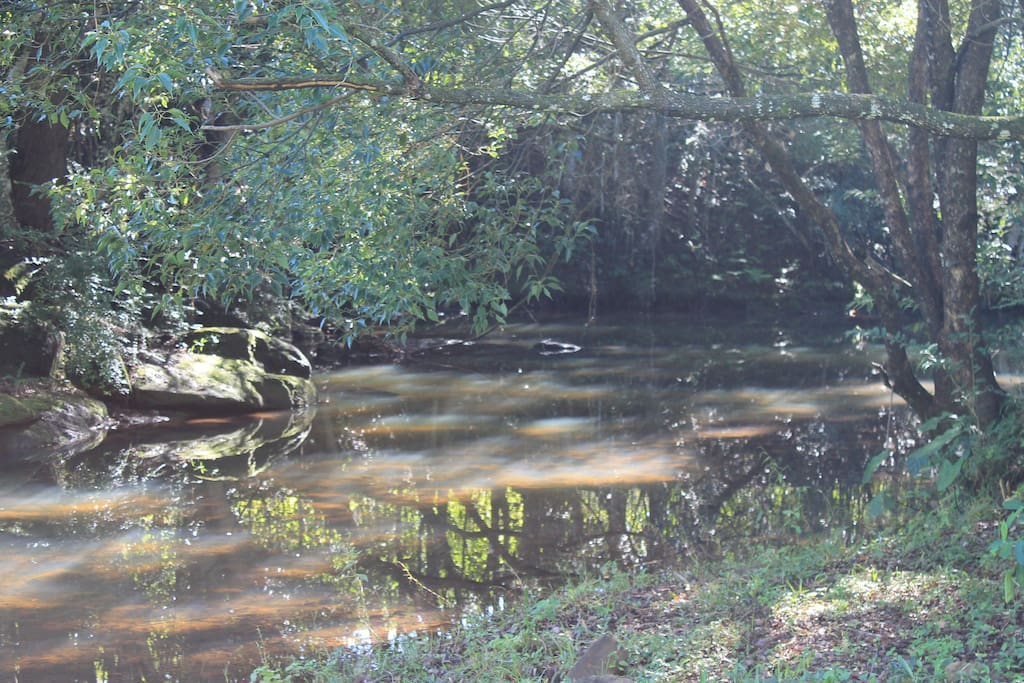 Private creek and swimming hole