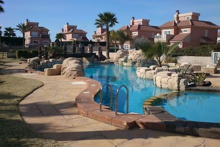 Bright, luxurious villa, with wrap-around gardens - Puerto Marino