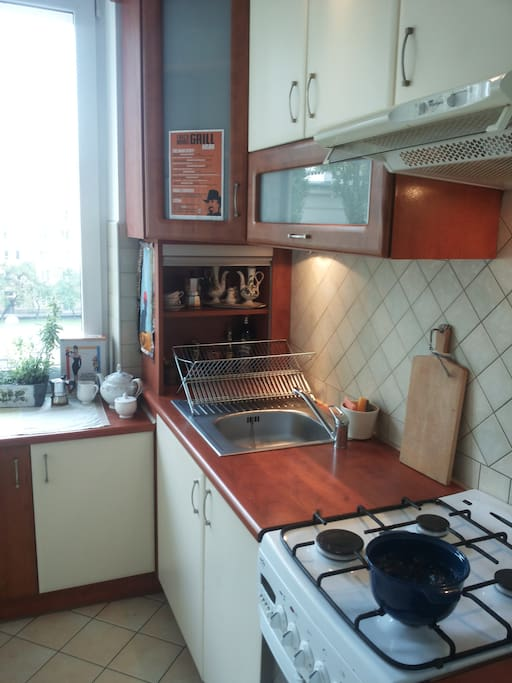 lovely, fully equipped kitchen area