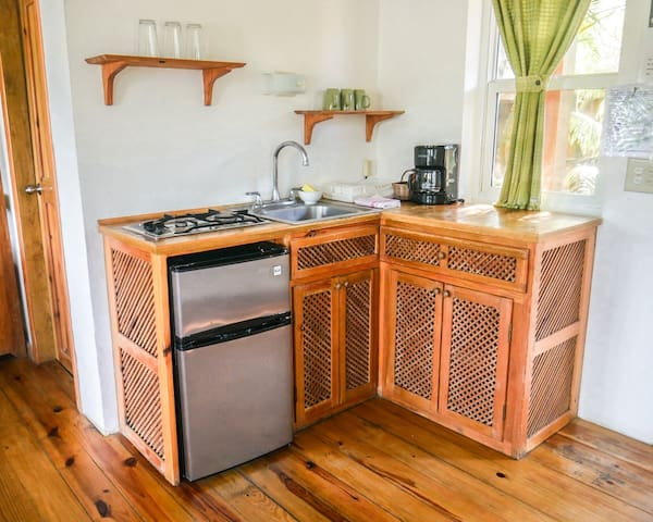 Private =kitchenette in the room