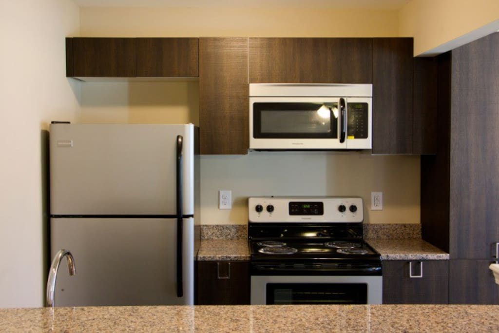 Granite countertops/ updated appliances