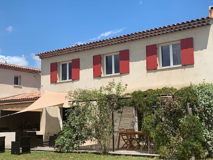 Villa 8 personnes entre Cannes et St Tropez
