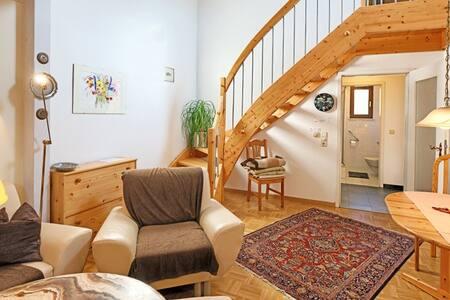 Haus Sonnenschein und Appartement am Kurpark, (Bad Krozingen), Ferienwohnung 1 mit 60 qm, 1 Schlafzimmer für maximal 2 Personen