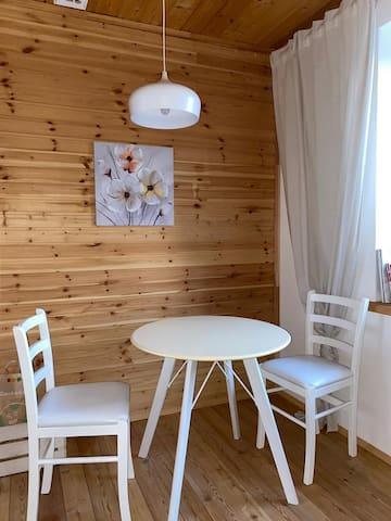 Небольшой дом на территории конного клуба РАНЧО.РФ