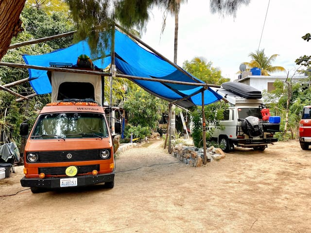 RV/Camper space in Downtown Cabo close to Marina