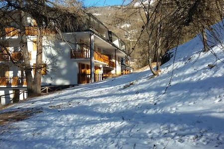 Apartment near ski slopes - Sauze d'Oulx - Lejlighed