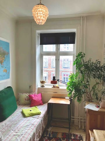 Cosy small comfortable room - 250m. from new metro