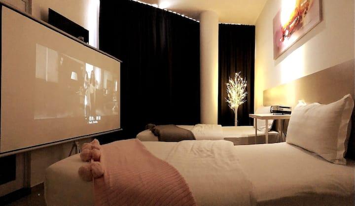 吉隆坡国际机场KLIA/KLIA2坐标酒店巨幕影院唯美豪华双床大窗房紧邻MITSUI奥莱厦门大学分校