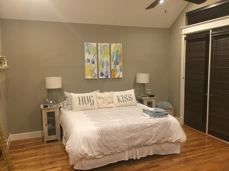 Spacious Master Bedroom with separate master bath