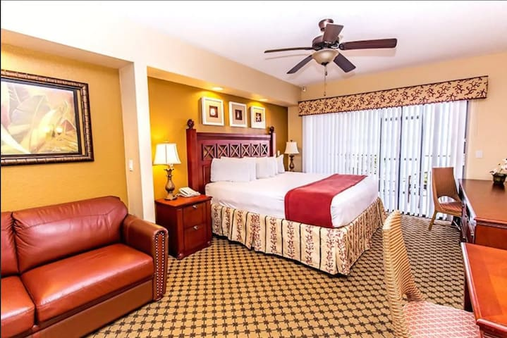 Westgate Lakes&Spa Studio private in Orlando