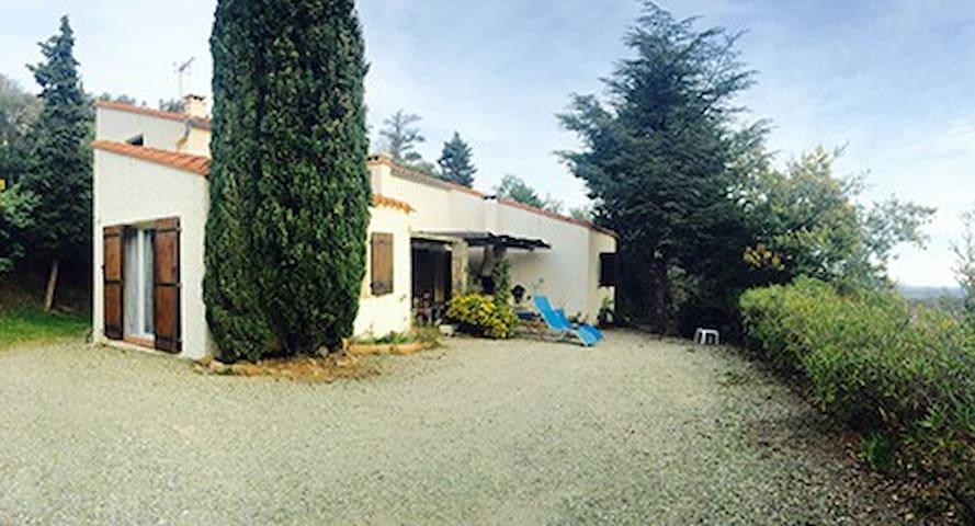 GITE BELLE VUE - Montesquieu-des-Albères - Nature lodge