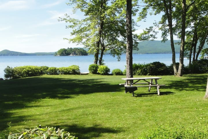 Lakefront Winnipesaukee Home