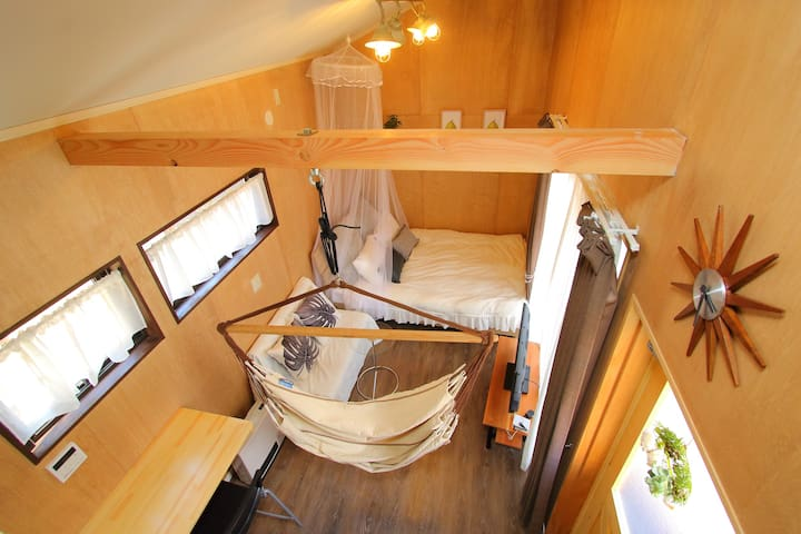 Stylish Tiny House Overlooking Mt. Fuji  - TABBY
