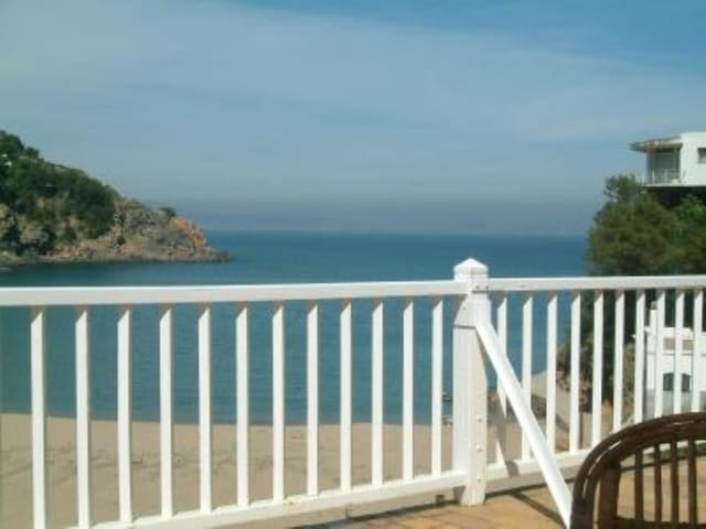 Large terrace  with beautiful sea views - Sa Riera - Condo