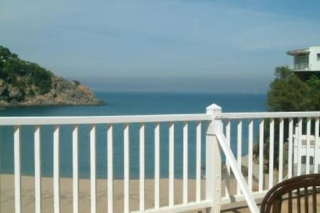 Large terrace  with beautiful sea views - Sa Riera
