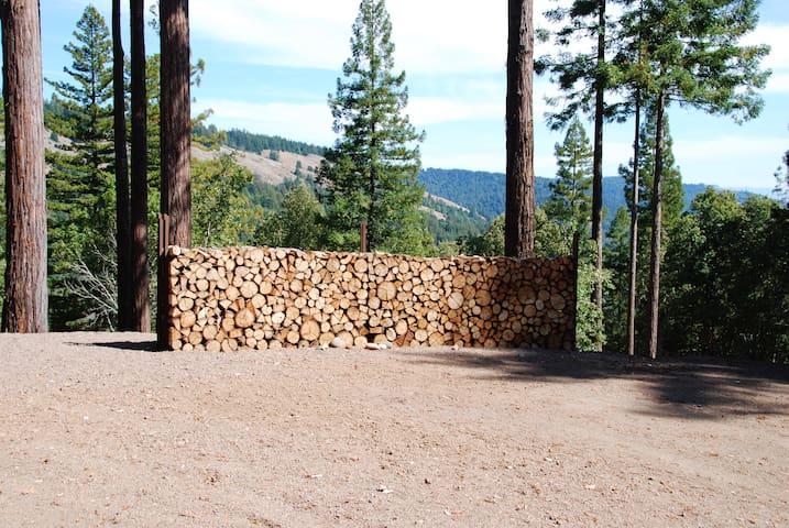 The Hexagon Ridge Top Hideaway - Navarro - Nature lodge