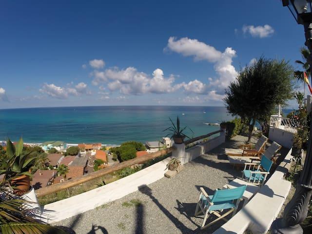 Terracce sea view