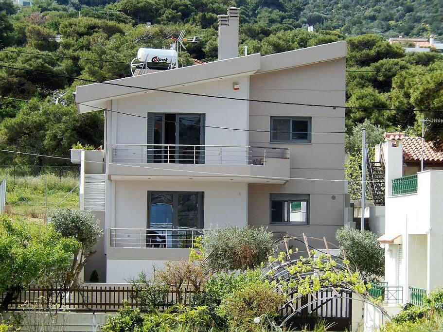 Villa overall view
