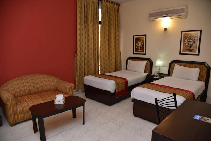Continental 3 Star Hotel  (Twin Rooms)