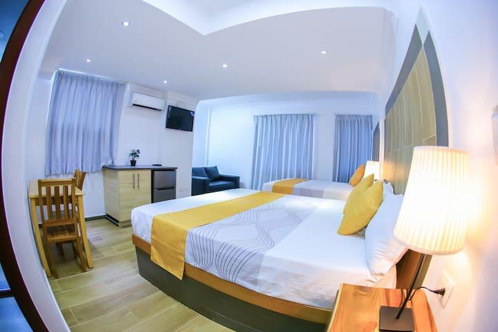 Hotel Vicentina Family Room / Playa Boca Chica