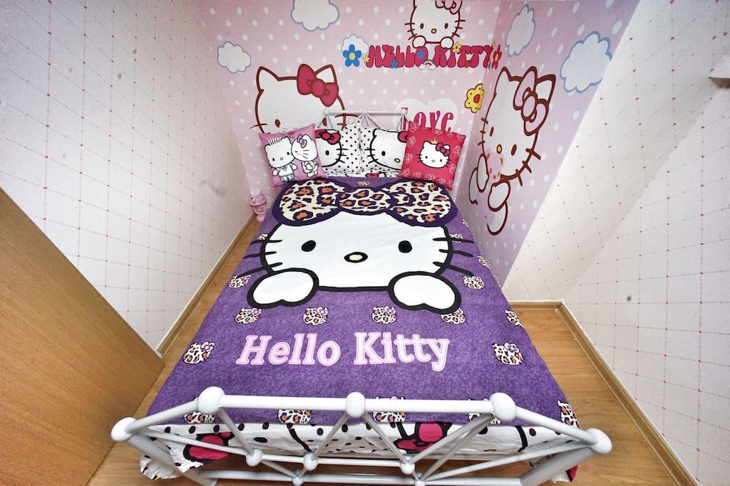 凯蒂猫主题房间