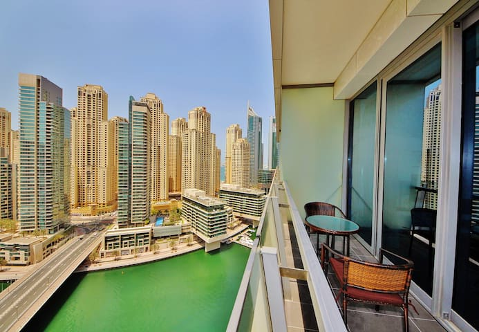 Waterfront studio with style in Silverene Tower - Dubai - Wohnung