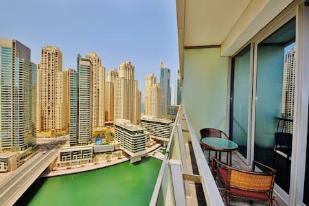 Waterfront studio with style in Silverene Tower - Dubai - Flat