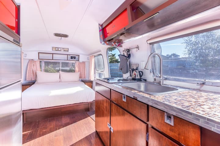 GLAMPING OREGON STYLE, CUSTOM AIRSTREAM | KUMBAYA
