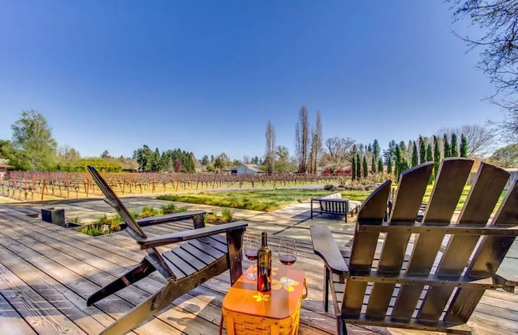Private Vineyard Haven | Firepit & Outdoor Oasis