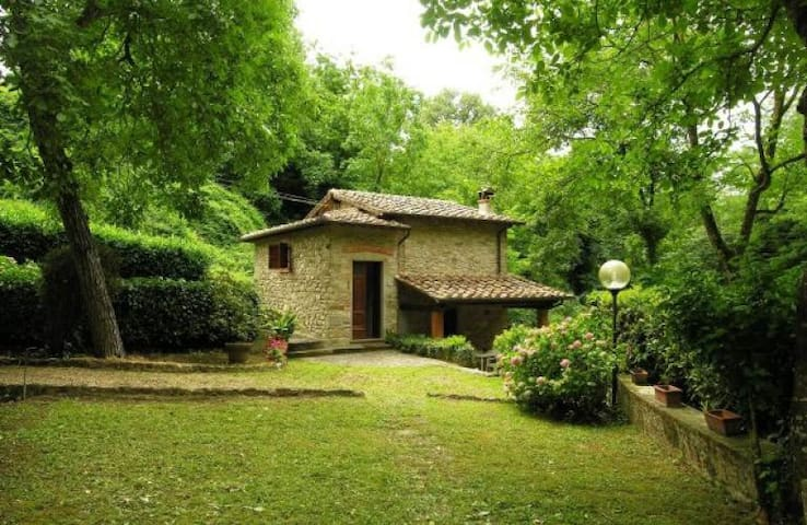Lovely stone-built mill, private garden & barbecue - Molezzano