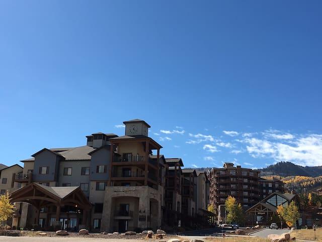 Silverado in the fall