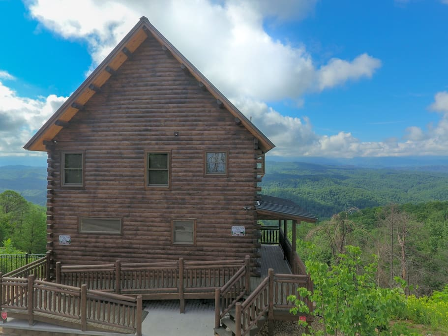A View From The Top Unobstructed View Cabins For Rent