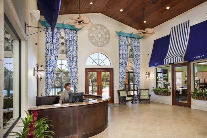 Front Lobby of Clubhouse