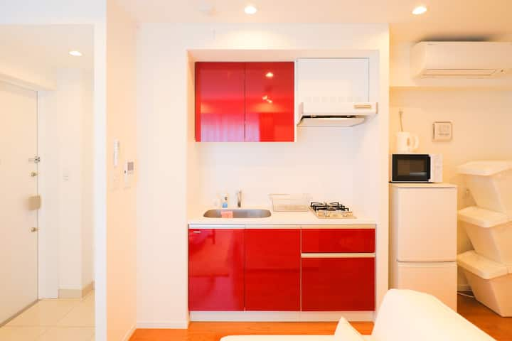 Contemporary 1BR, Midtown Roppongi /202