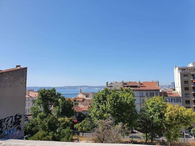 Bel Appartement Vue Mer, Saint Victor, Marseille