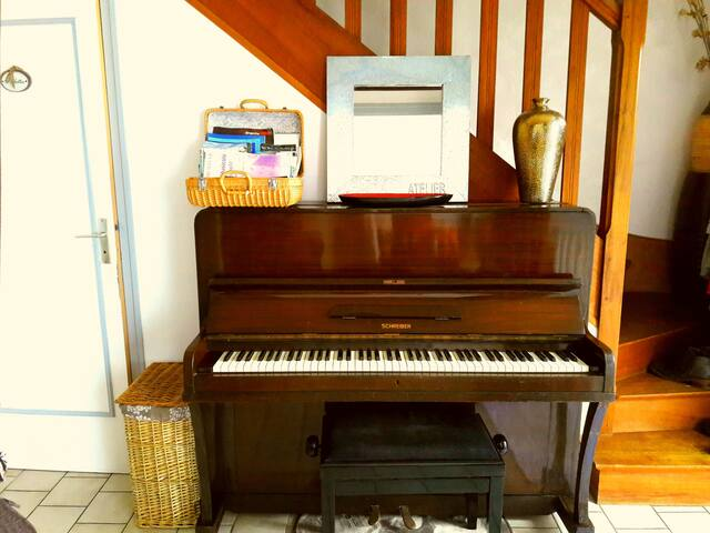 piano entrée + documentations région !