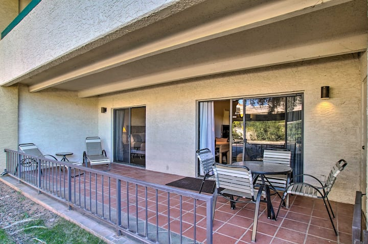 NEW! Condo w/ Pool: 1 Block to Salt River Fields!