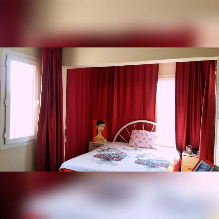 Your comfortable apartment in the center of İzmir
