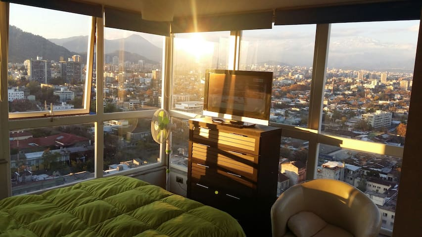 Depto centrico con parking incluido - Santiago Metropolitan Region - Appartement