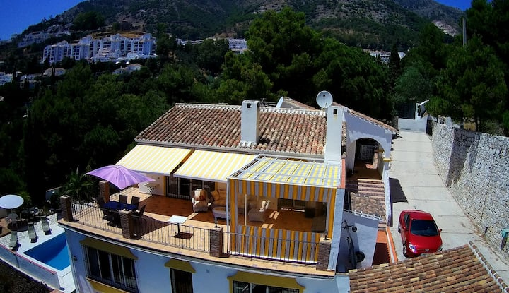 Villa Panoramica three twin rooms