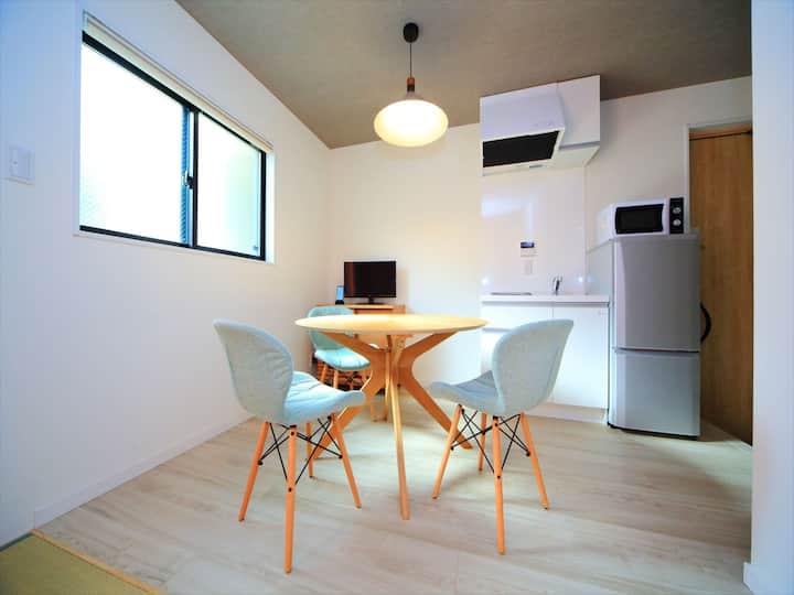 2 min Kyoto Sta/Cozy studio room/Free Wi-Fi